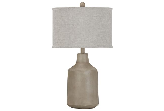 Dalton White Table Lamp