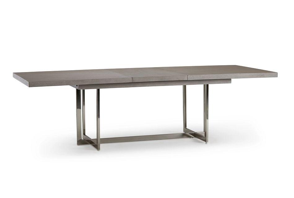 Tribeca Light Tone Rect Trestle Table
