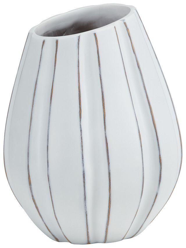 Xander White Vase (1)