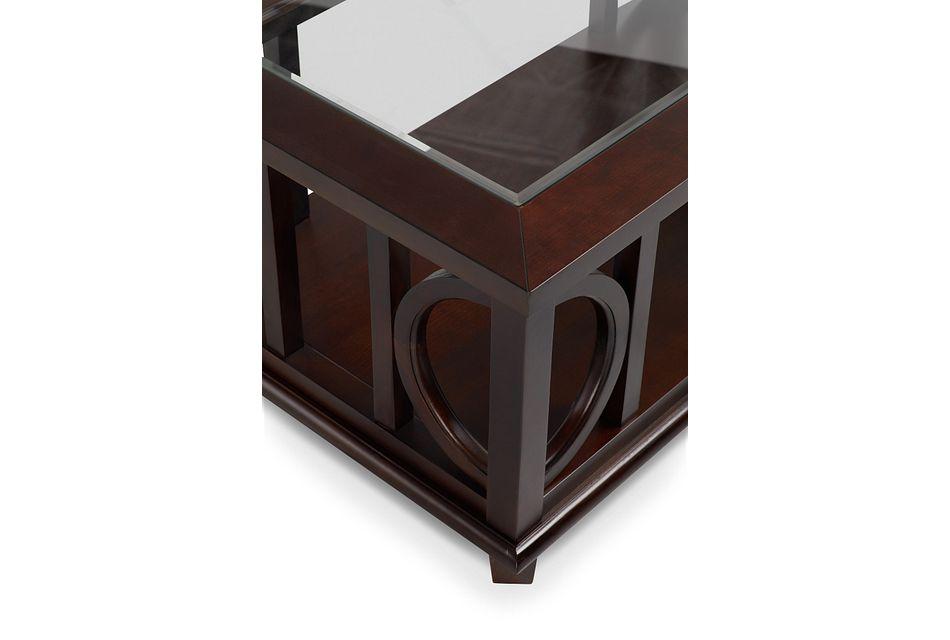Soren Dark Tone Rectangular Coffee Table