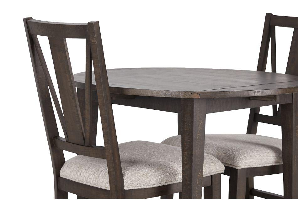 "Heron Cove Dark Tone 38"" Table & 2 Chairs,  (3)"