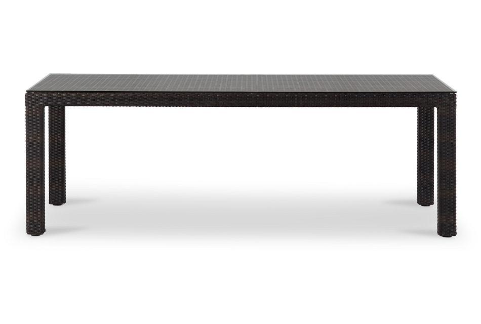 """Zen Dark Tone 84"""" Rectangular Table"""