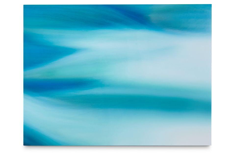 Jaylin Turquoise Acrylic Wall Art