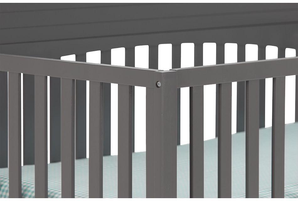 Parker Gray 4-in-1 Crib