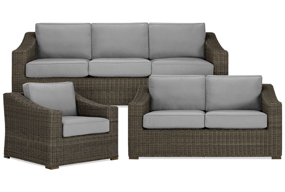 Canyon Gray Outdoor Living Room Set