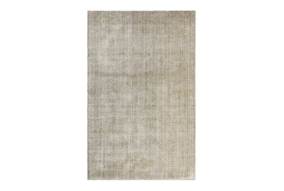 Divine Brown Viscose Bl 5x8 Area Rug