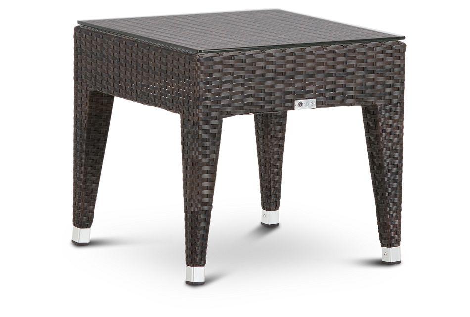 Zen Dark Tone End Table