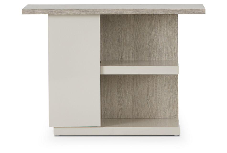 Caelan Light Tone Sofa Table,  (2)