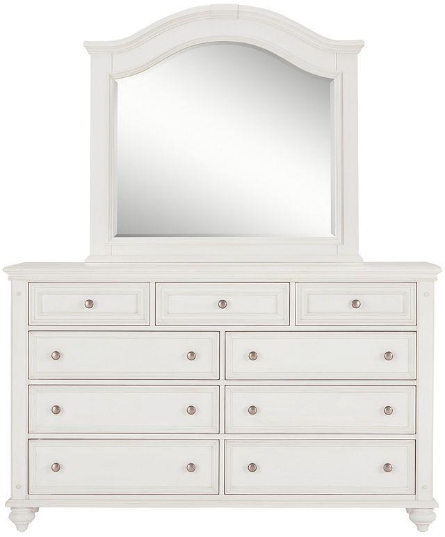Savannah Ivory Arched Dresser & Mirror (0)