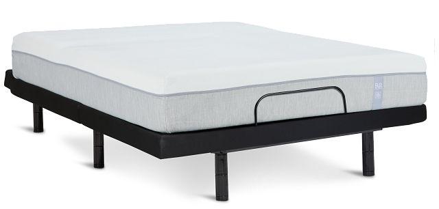 "Rest & Renew Memory Foam 10"" Bronze Adjustable Mattress Set (1)"
