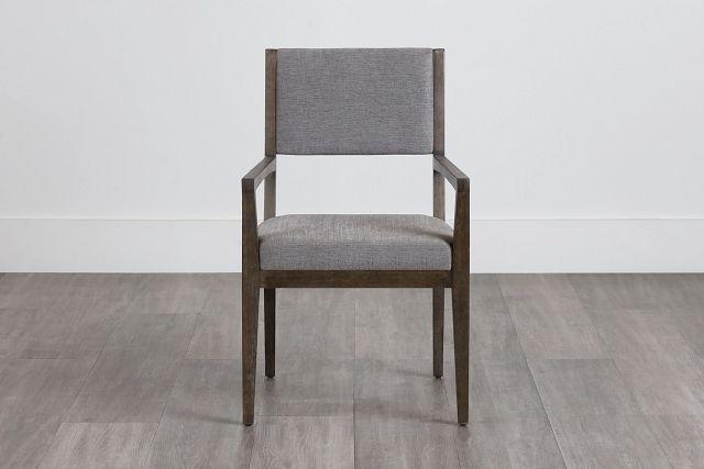 Linea Dark Tone Arm Chair (0)