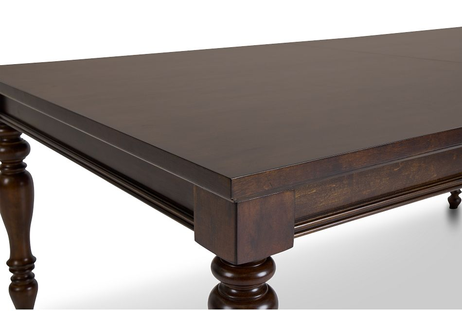 Savannah Dark Tone Rectangular Table