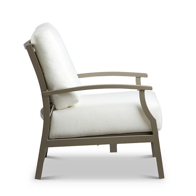 Raleigh White Rocking Chair (1)