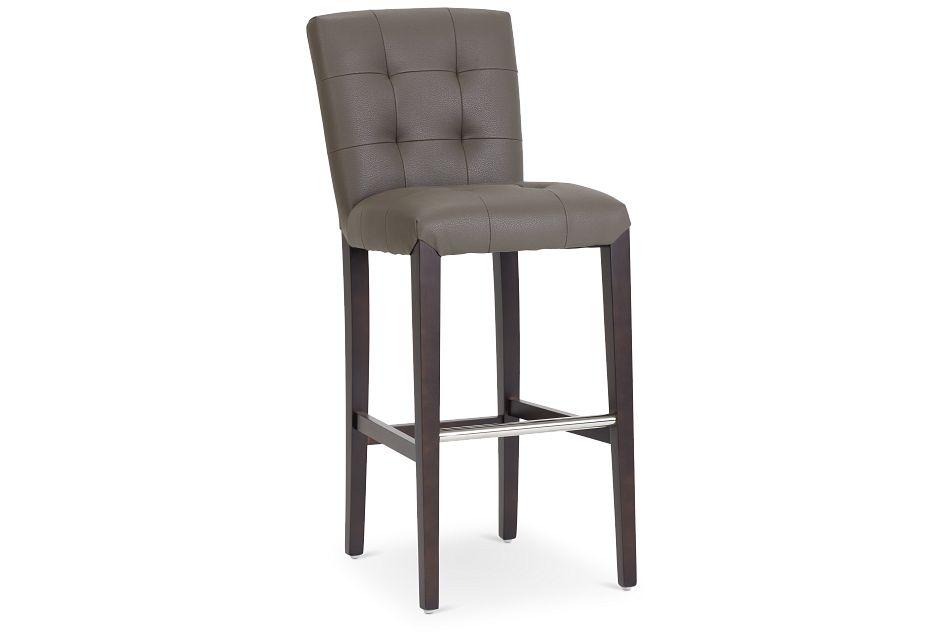 """Shelby Graymicro 30"""" Upholstered Barstool,  (1)"""