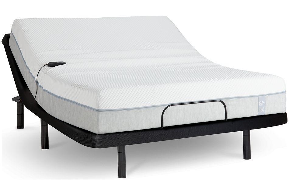 "Rest & Renew Cooling Memory Foam 11""  Bronze Adjustable Mattress Set"