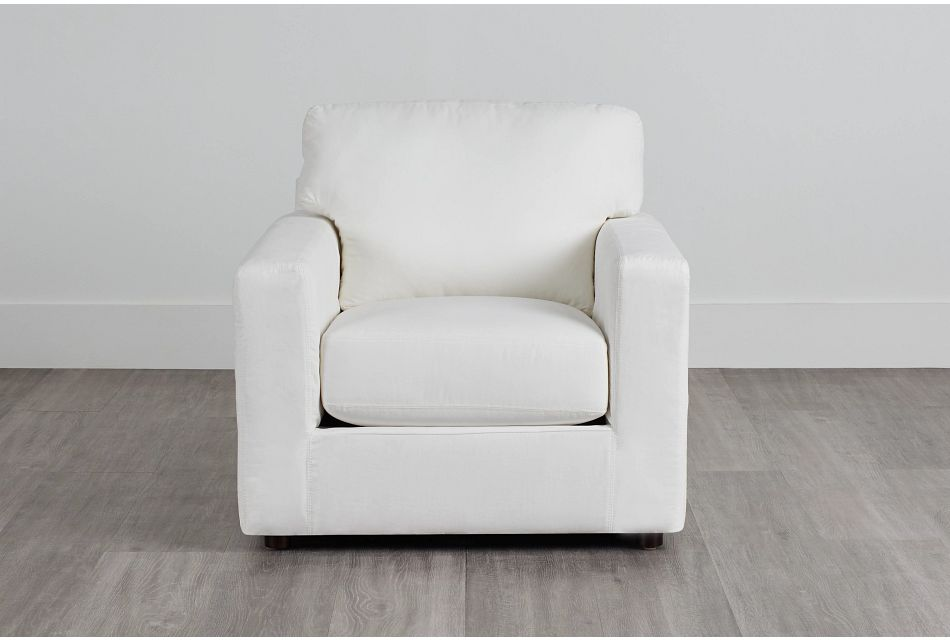 Poppy Light Beige Fabric Chair,  (0)