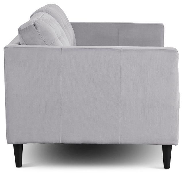 Shae Light Gray Micro Sofa (3)