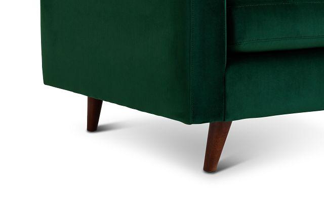 Joya Green Velvet Chair