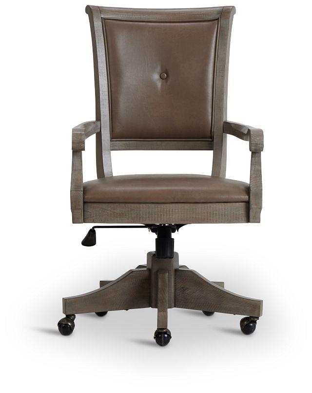 Sonoma Light Tone Swivel Desk Chair (3)