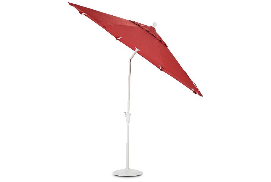 Capri Red Umbrella Set,  (3)