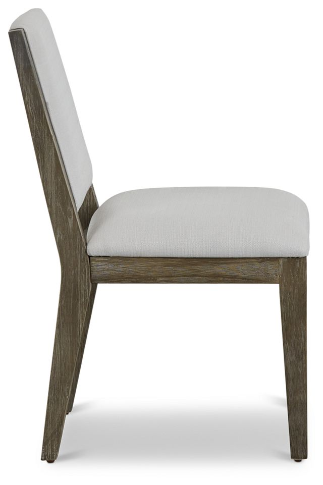 Bravo Dark Tone Upholstered Side Chair (2)