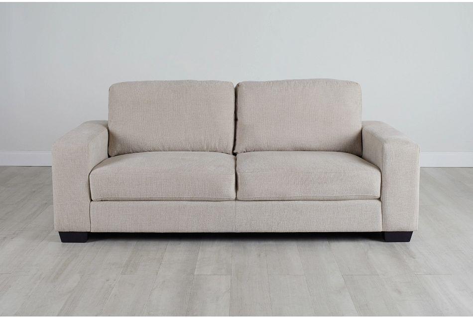 Estelle Beige Fabric Sofa,  (0)