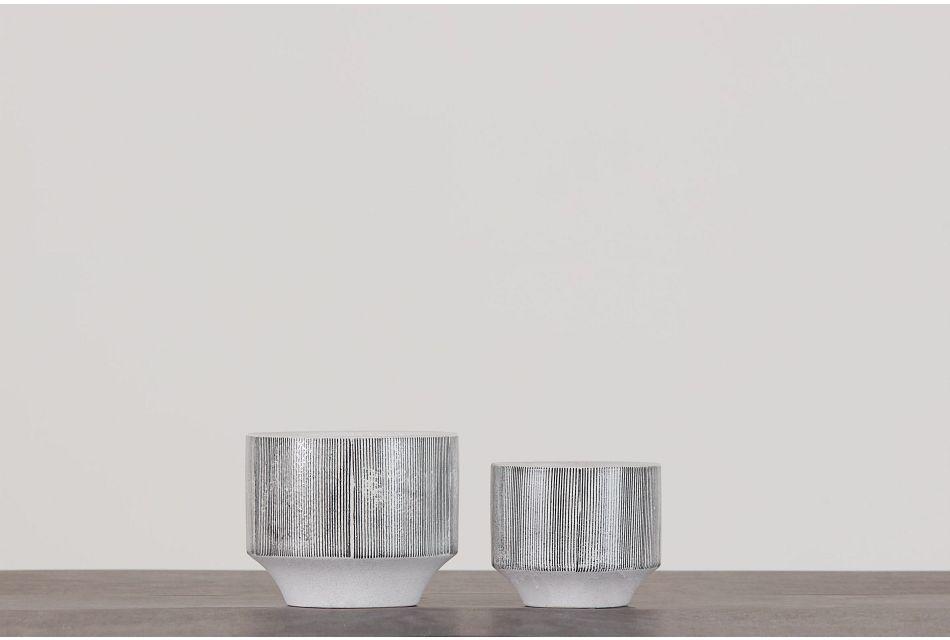 Rigel Gray Set Of 2 Planter