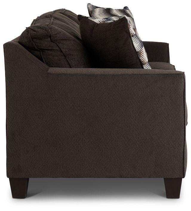 Charlie Dark Gray Fabric Sofa (3)