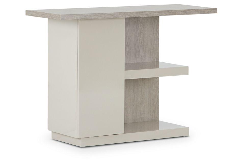 Caelan Light Tone Sofa Table,  (3)