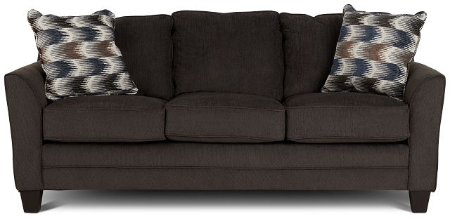 Charlie Dark Gray Fabric Sofa (1)