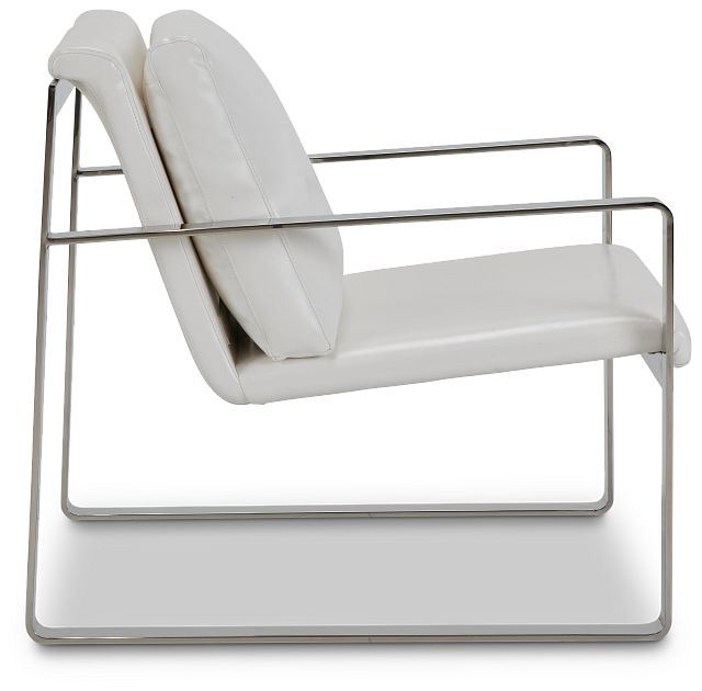 Roslin White Uph Accent Chair (2)