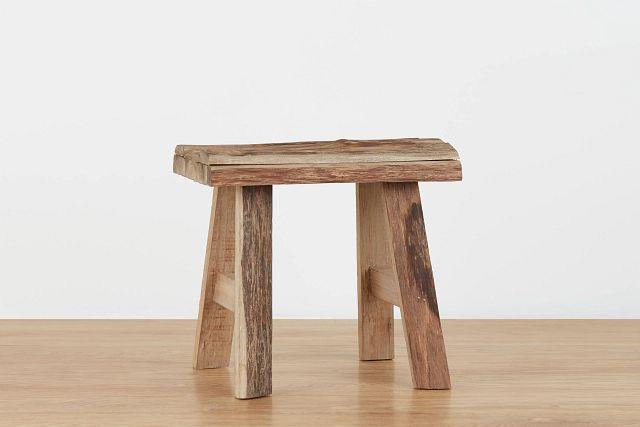 Caden Mid Tone Wood Stool (0)