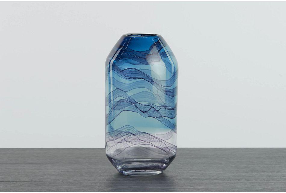 Alya Dark Blue Vase