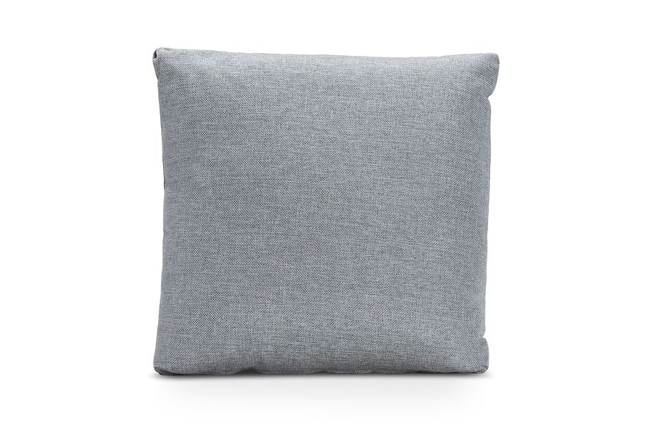Ripley Light Blue Fabric Accent Pillow