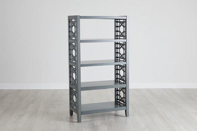 Joplin Gray Bookcase (0)