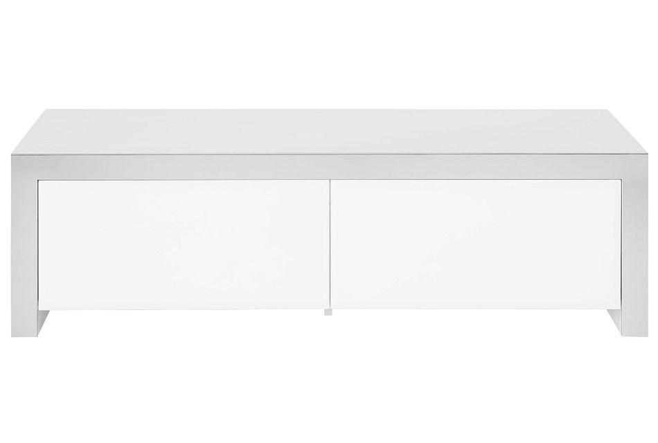 Dane White Rectangular Coffee Table