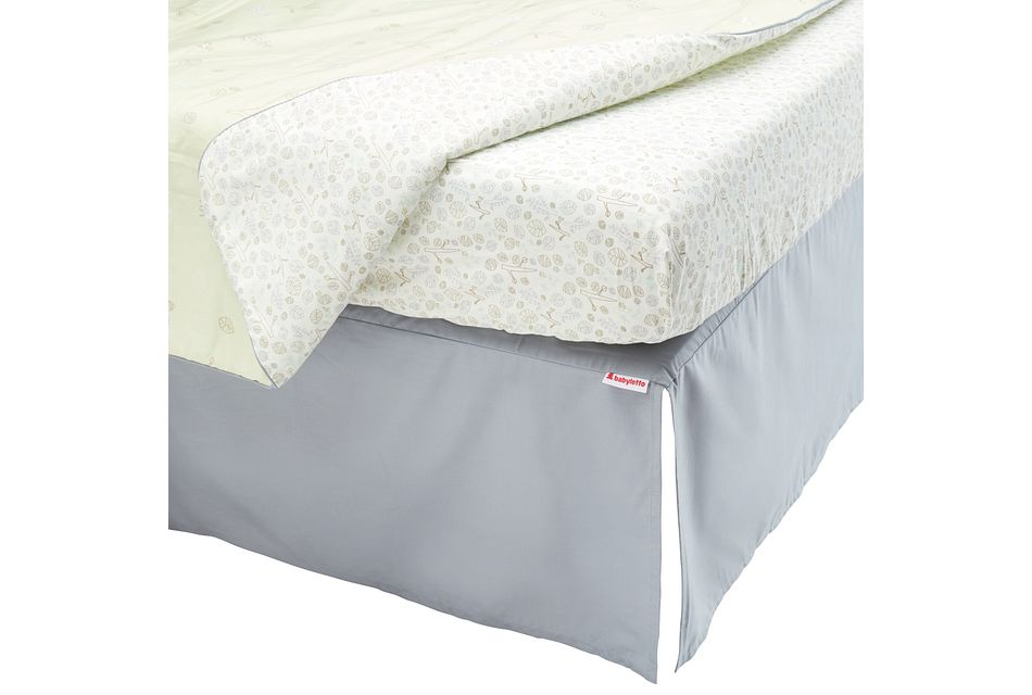 Tranquil Light Green  5 Piece Crib Bedding Set, Standard Crib (3)