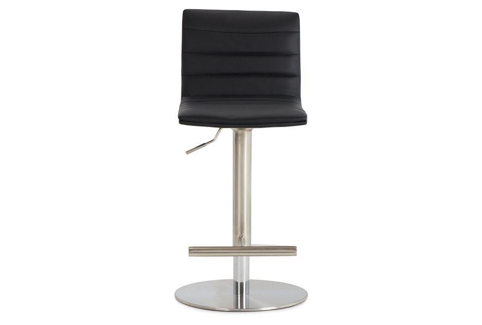 Ellis Black Uph Adjustable Stool,  (3)
