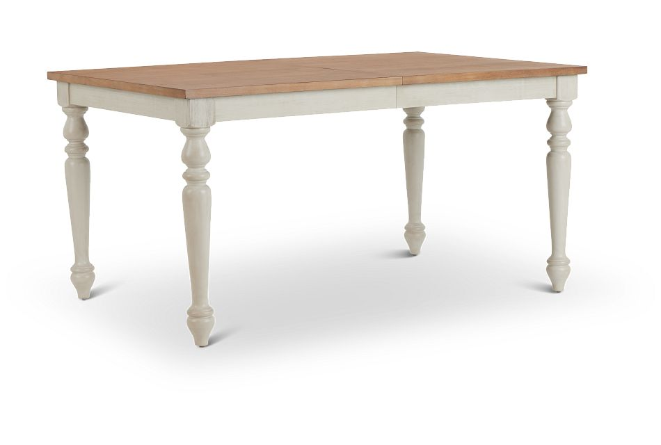 Lexington Two-Tone Rectangular Table,  (2)