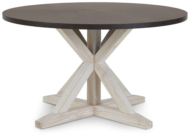 Jefferson Two-tone Round Table (1)