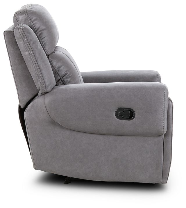 Scout Gray Micro Recliner (2)