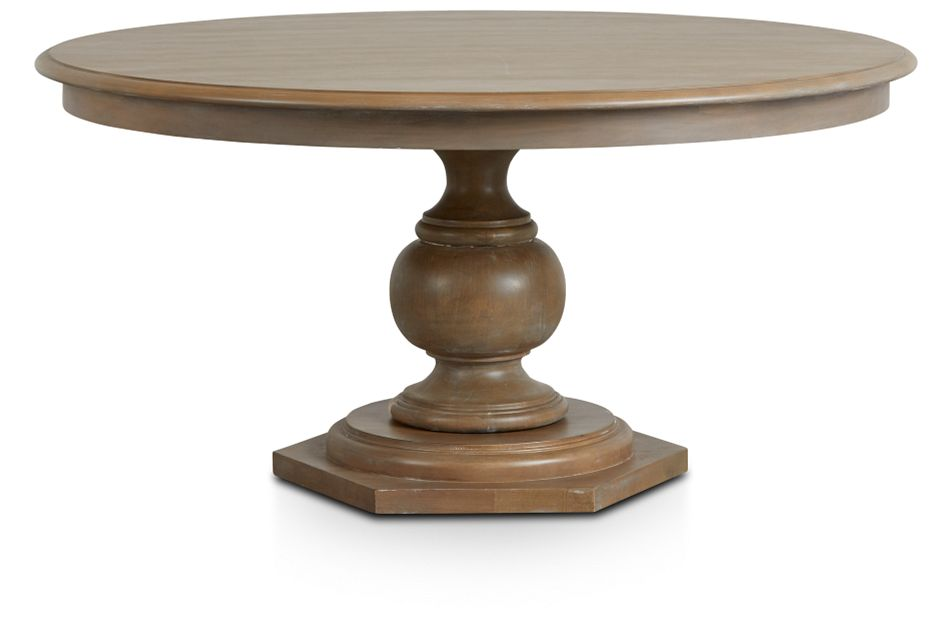 Haddie Light Tone Round Table,  (3)