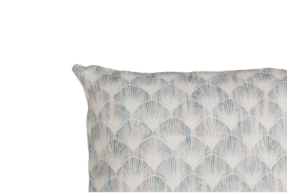 "Shell Green Fabric 20"" Accent Pillow,  (3)"