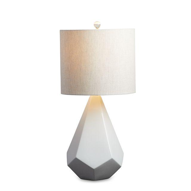 Delaney White Table Lamp (3)