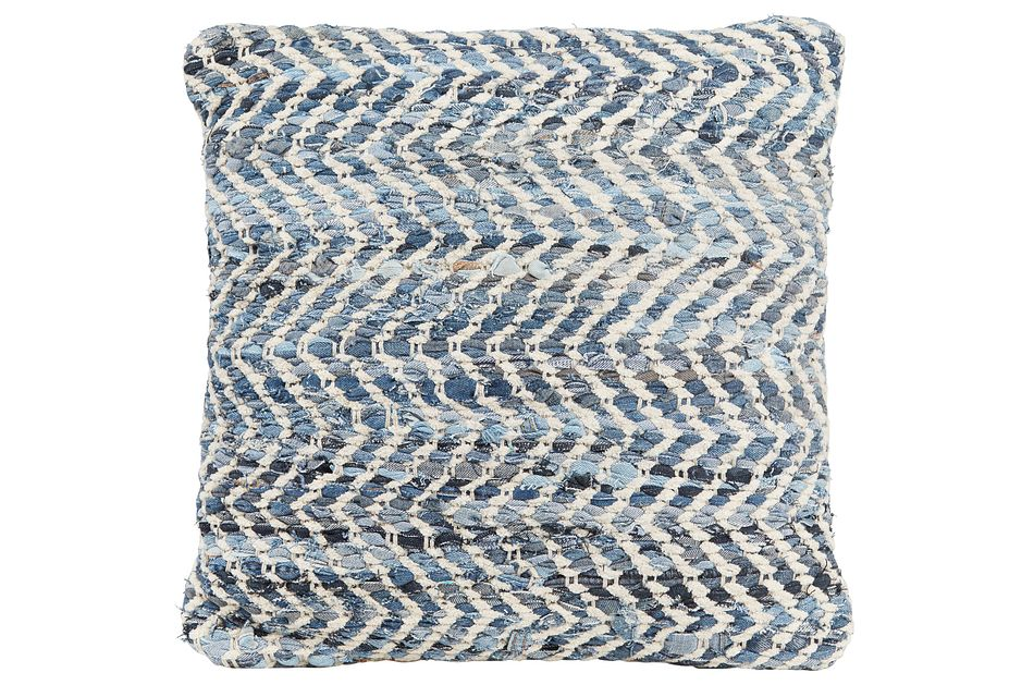 Sandy Blue Accent Pillow