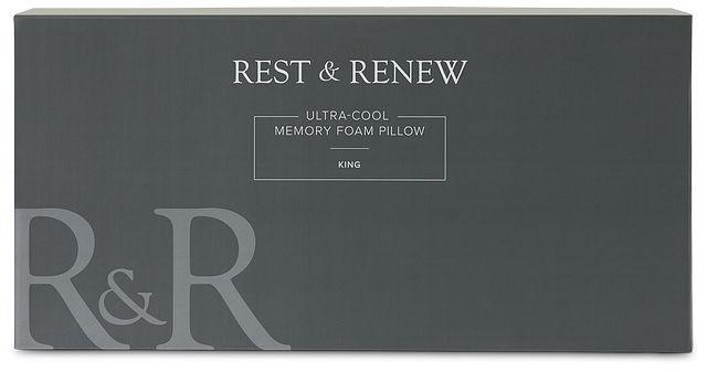 Rest & Renew Utra Cool Back Sleeper Pillow (1)
