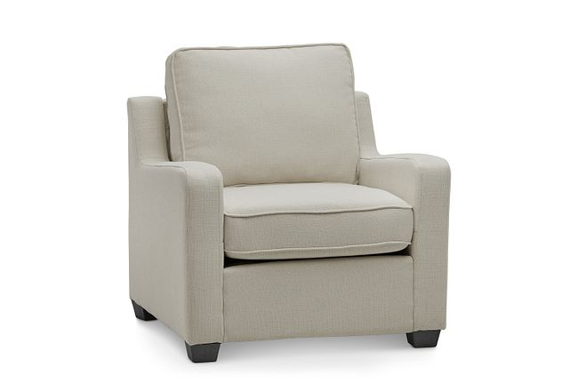 Delaware Light Beige Fabric Chair