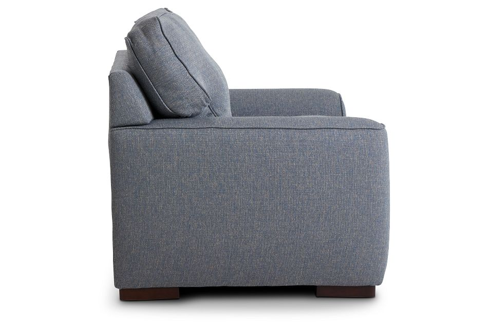 Austin Blue Fabric Innerspring Sleeper, Twin