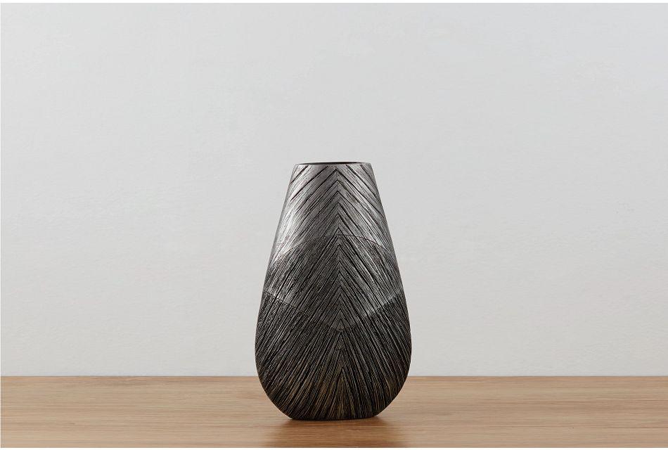 Delancey Dark Gray Medium Vase