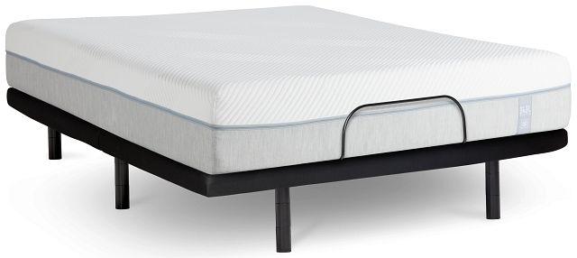 "Rest & Renew Memory Foam 11"" Silver Adjustable Mattress Set (0)"